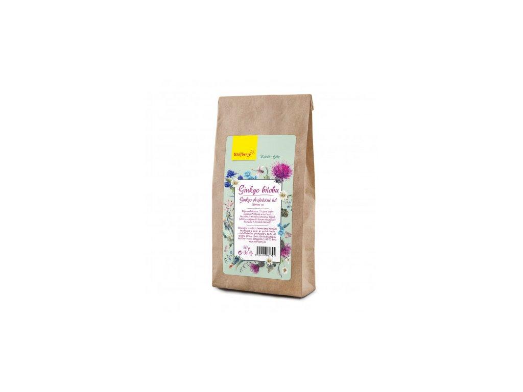 ginkgo biloba bylinny caj wolfberry 50 g