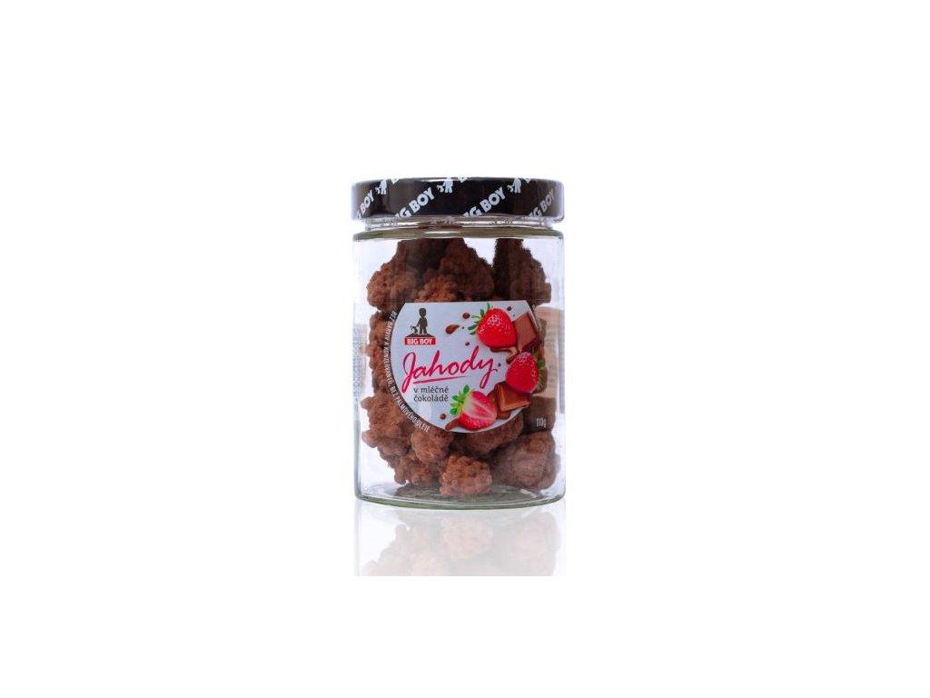 big boy jahody v mlecne cokolade 110g by kamilasikl