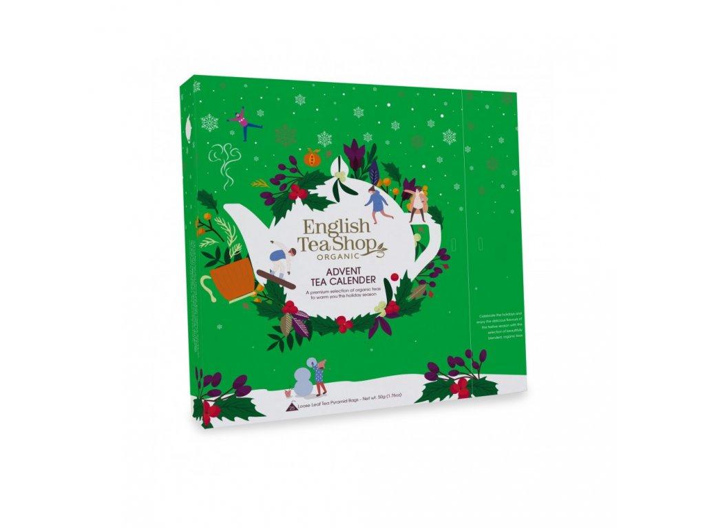 english tea shop adventni kalendar zeleny ets25 pyramidek 13 prichuti