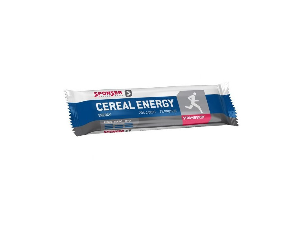 SPONSER CEREAL ENERGY BAR JAHODA 40 G
