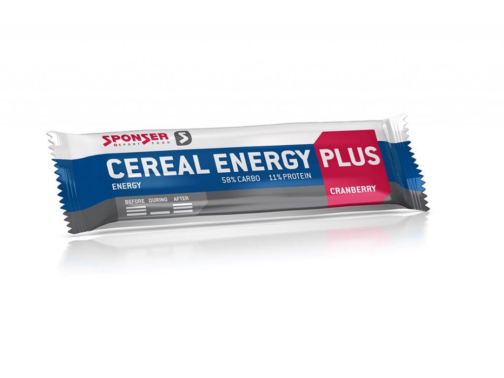 ceral energy plus bar 40g cranberry web