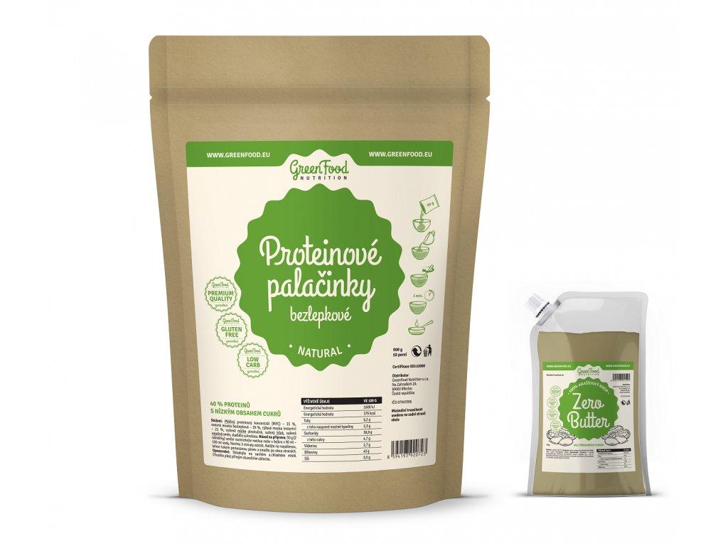 greenfood nutrition proteinove palacinky bezlepkove natural2