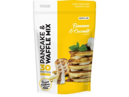 bodylab high protein pancake wafle mix 10