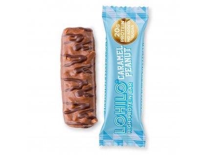 lohilo protein bar karamel arašídy