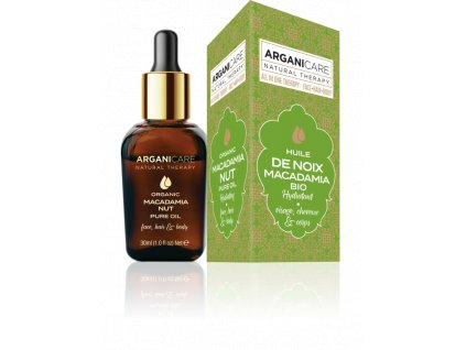 Arganicare MACADAMIA Organic Oil 30 ML