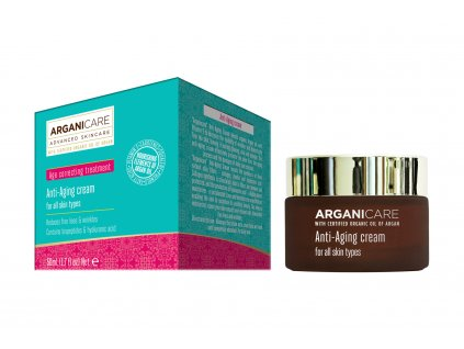 ARGANICARE SKIN CARE ANTI-AGING CREAM FOR ALL SKIN TYPES 50 ML