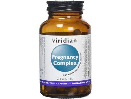 VIRIDIAN PREGNANCY COMPLEX MULTIVITAMÍN 60 CPS - PRO TĚHOTNÉ  doplněk stravy