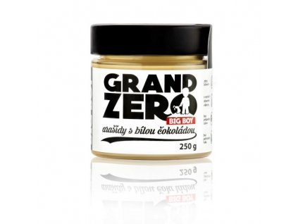 kremy big boy grand zero s bilou cokoladou 250g