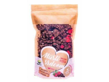 topnatur musli s srdcem malina belgicka cokolada