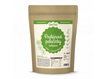 greenfood nutrition proteinove palacinky bezlepkove coko liskovy orech