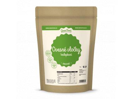 greenfood nutrition ovesne vlocky bezlepkove drcene