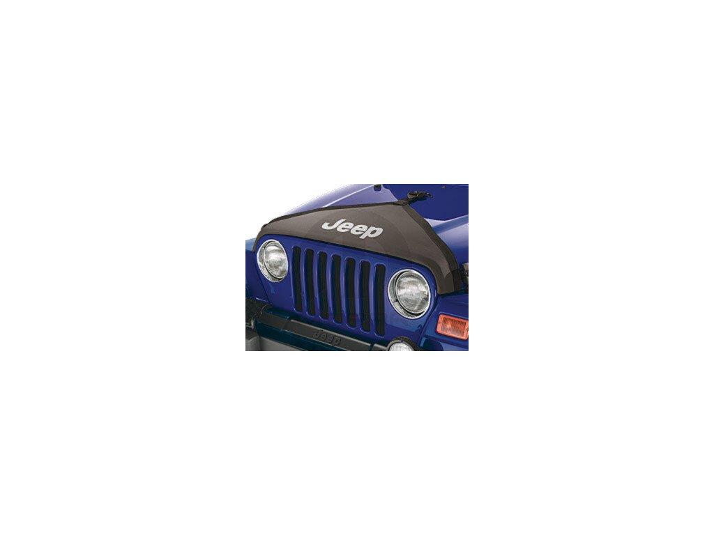 Jeep Wrangler TJ Kryt kapoty černý
