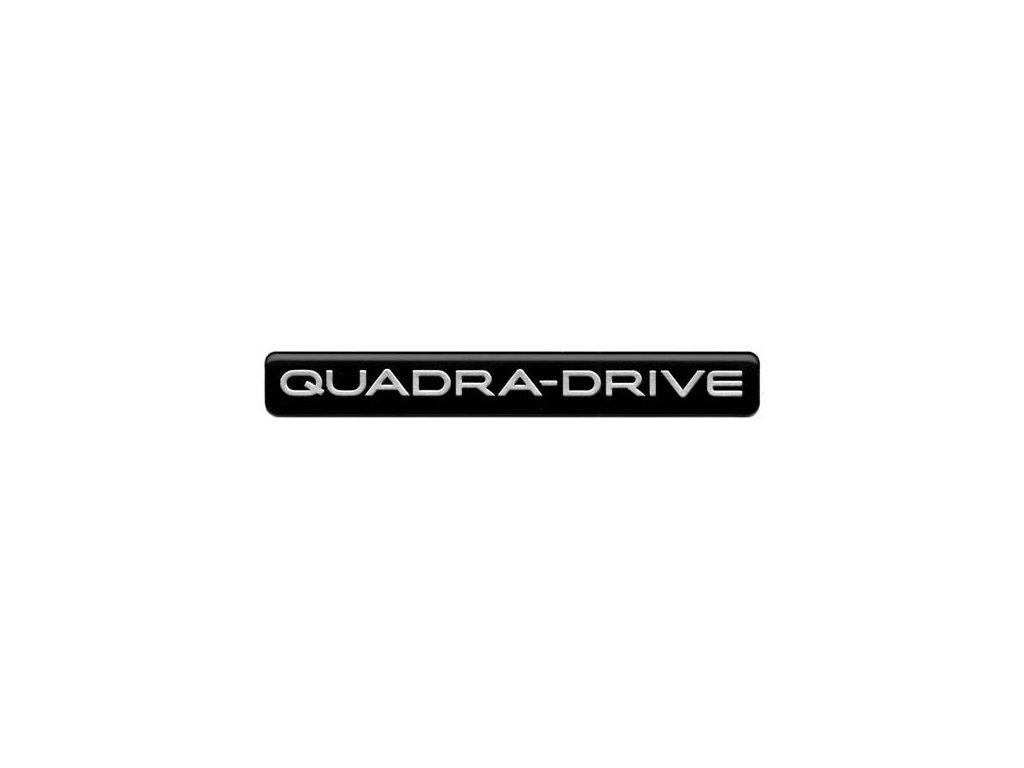 Nápis QUADRA-DRIVE WJ/WG