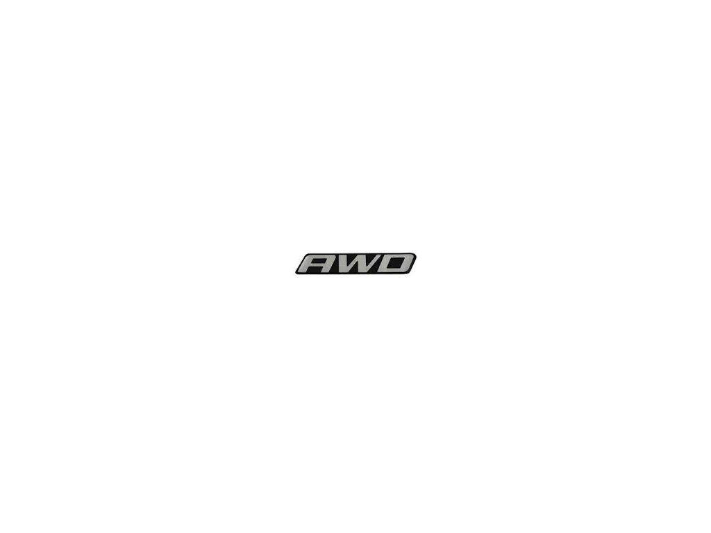 Nápis AWD