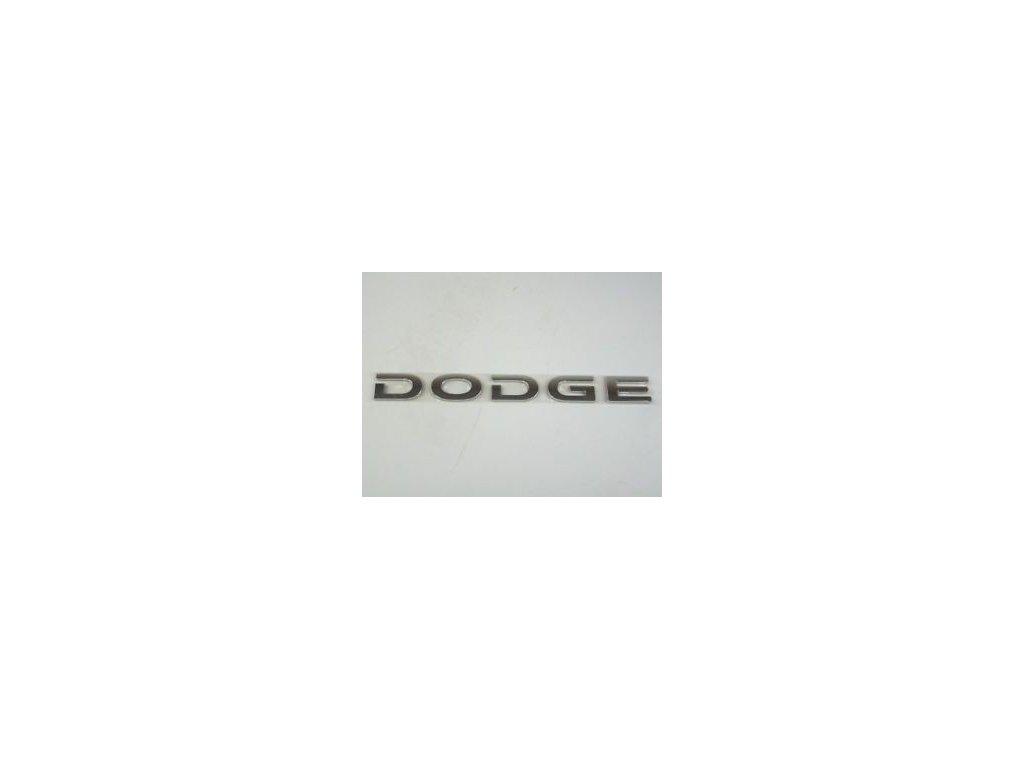 Nápis DODGE RT