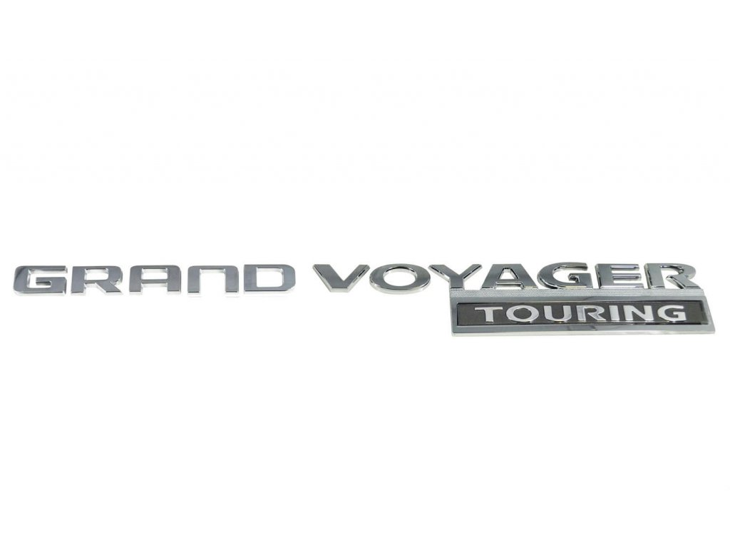 Nápis Grand Voyager Touring RT