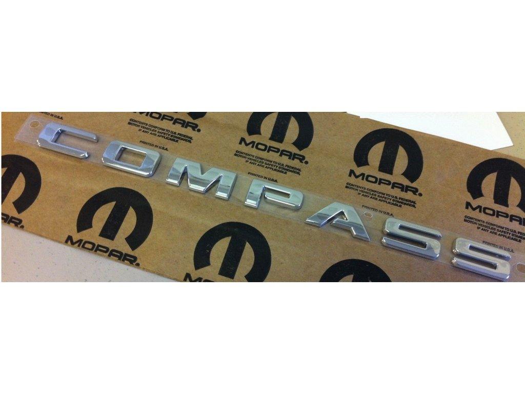 Nápis COMPASS MK
