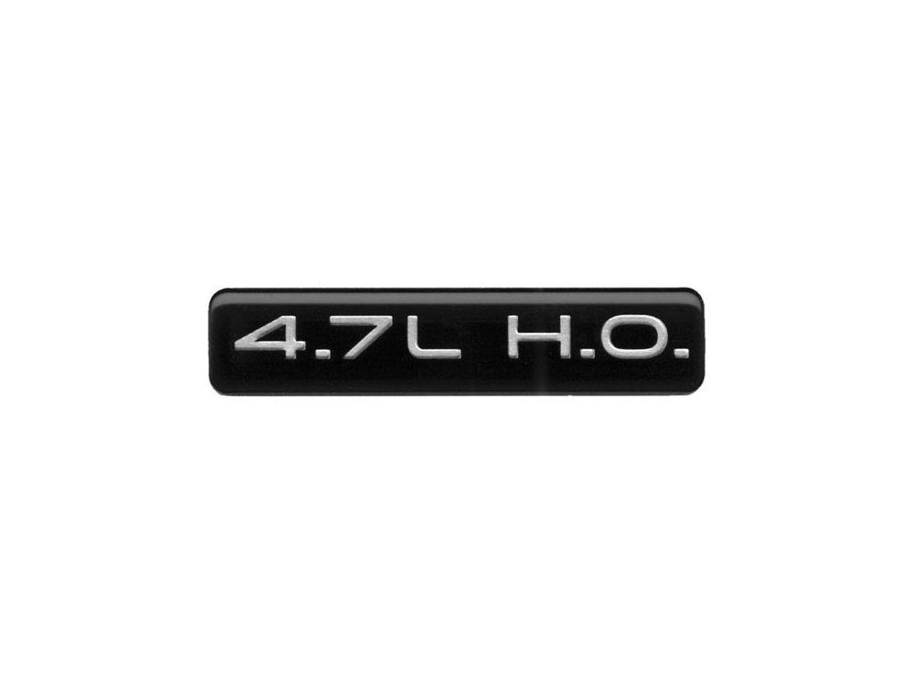 Nápis 4.7L H.O. WJ/WG