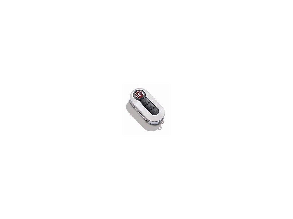 FIat 500X Kryt na klíč perlově bílá