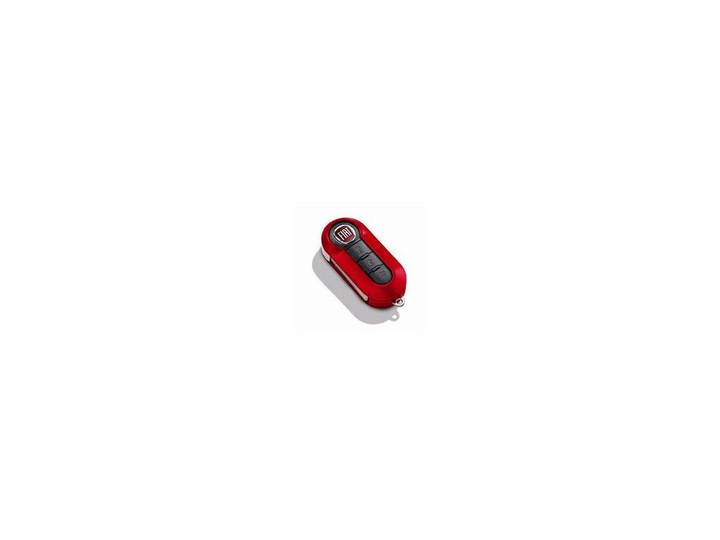Fiat 500X Kryt na klíč jasně červená