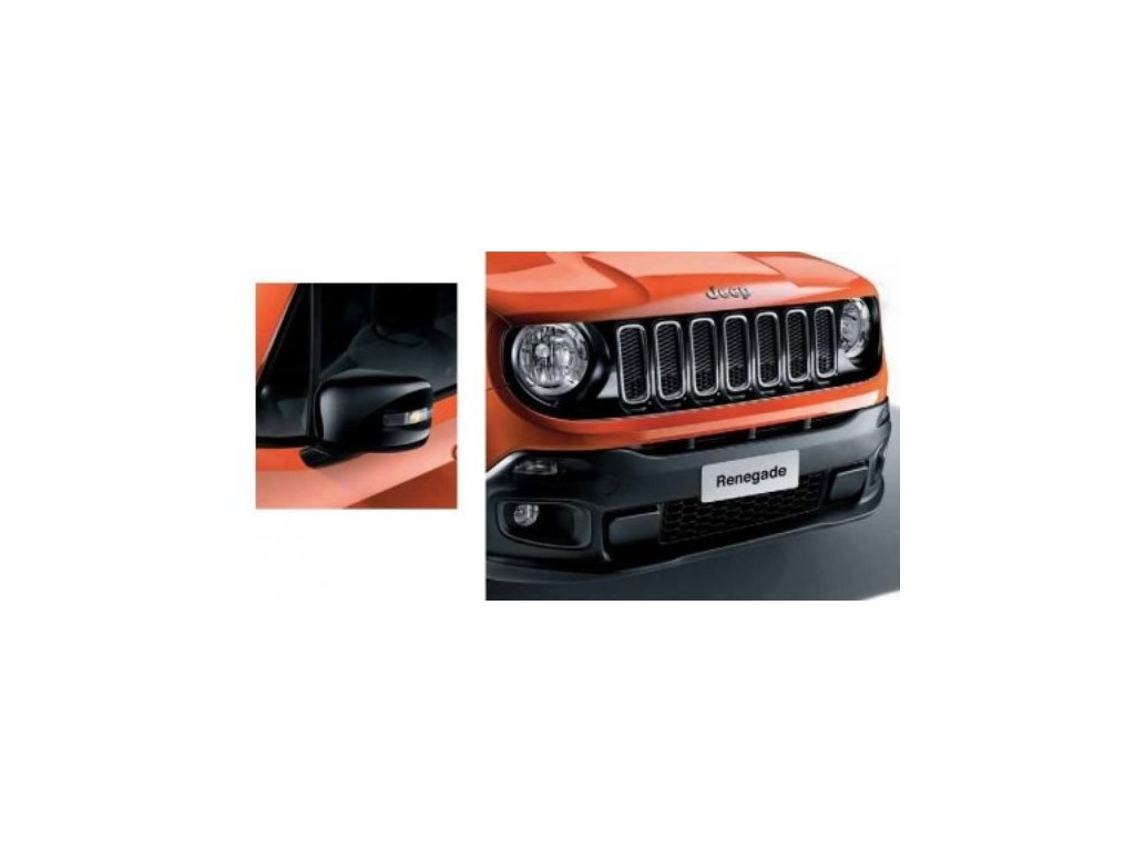 Jeep Renegade kit (maska+kryty zrcátek) piano black