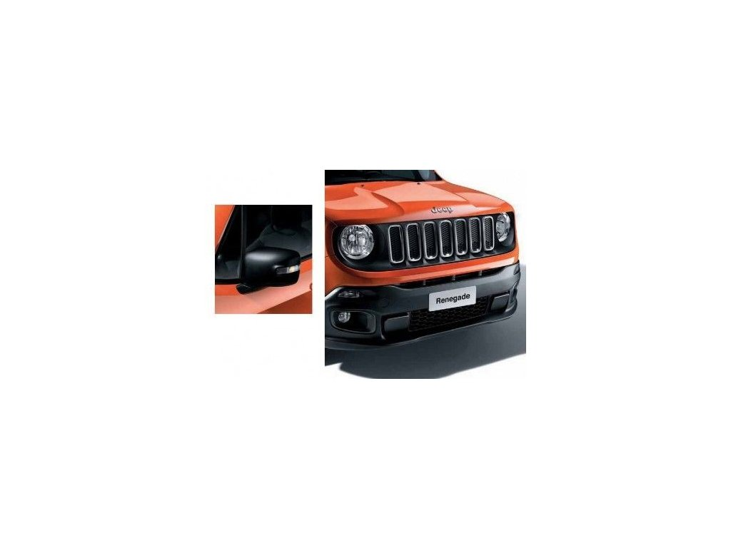 Jeep Renegade kit (maska+kryty zrcátek) matte black