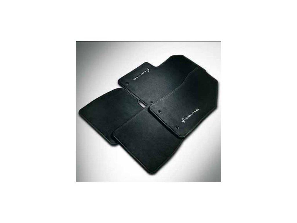 Textilní koberce černé Lancia Flavia