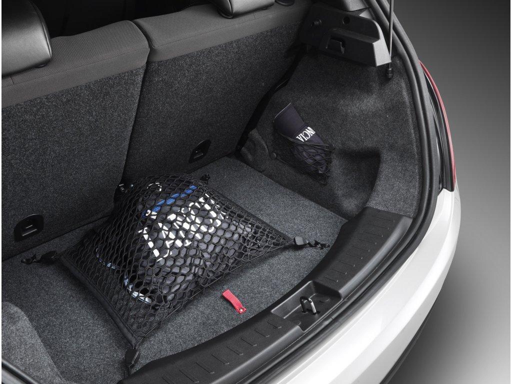 Zavazadlová síť na podlahu Lancia Ypsilon