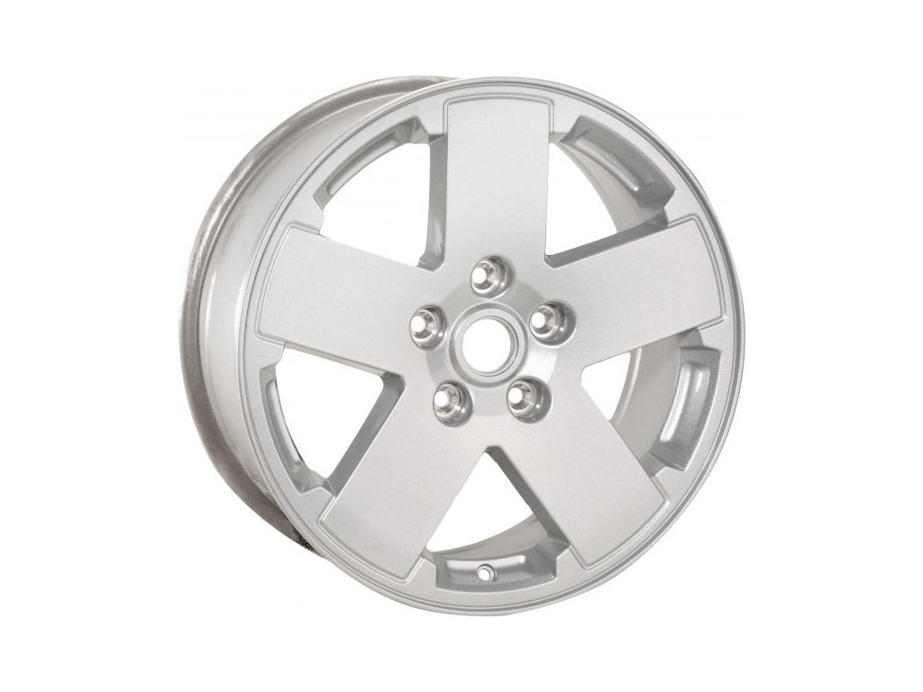 """Mopar kolo 18x7.5"""" in Silver Metallic"""