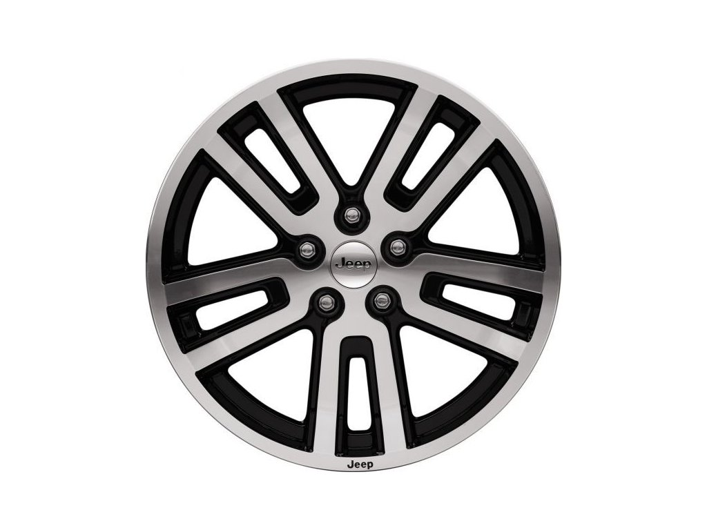 "Mopar kolo 18x7"" Black Pocketed"