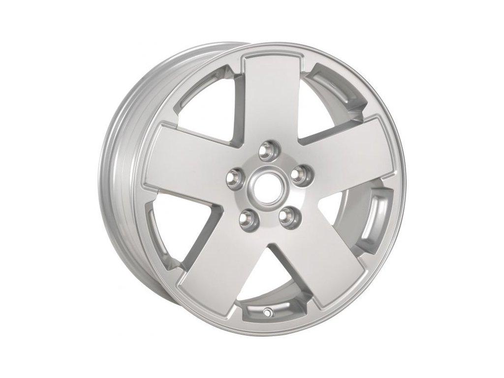 Jeep Wrangler JK Kolo 18´ Cast-Aluminum Wheel in Silver Metallic