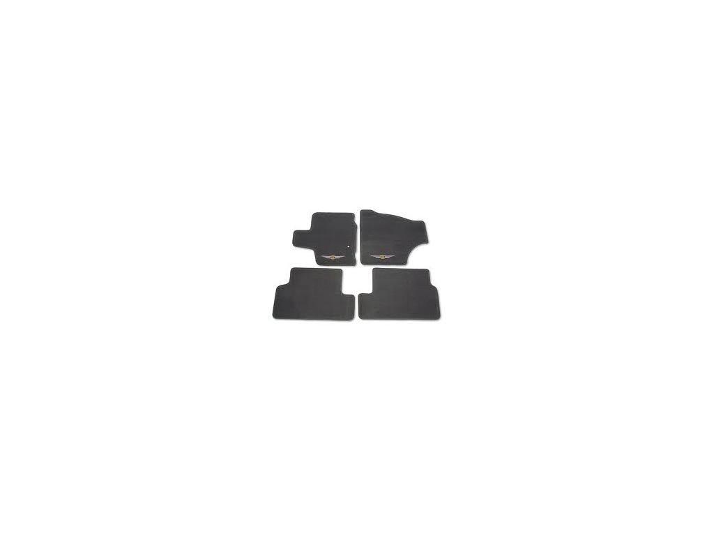Koberce textilní sada black Voyager RT 11-12 Stow 'n Go