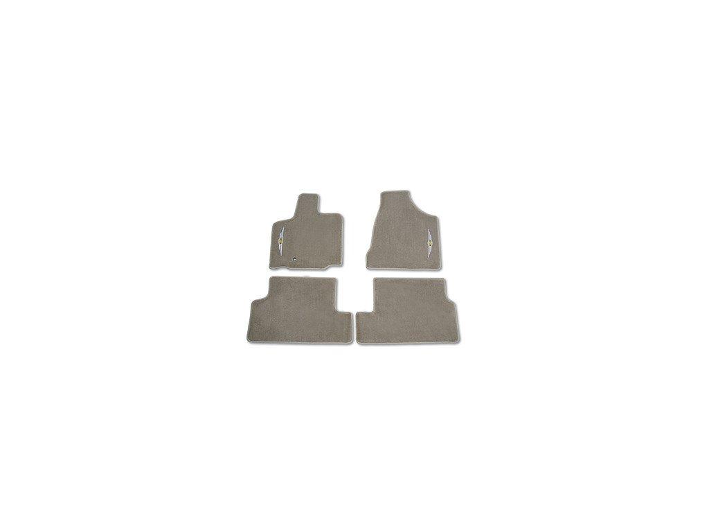 Koberce textilní sada beige Voyager RT Swivel `n Go