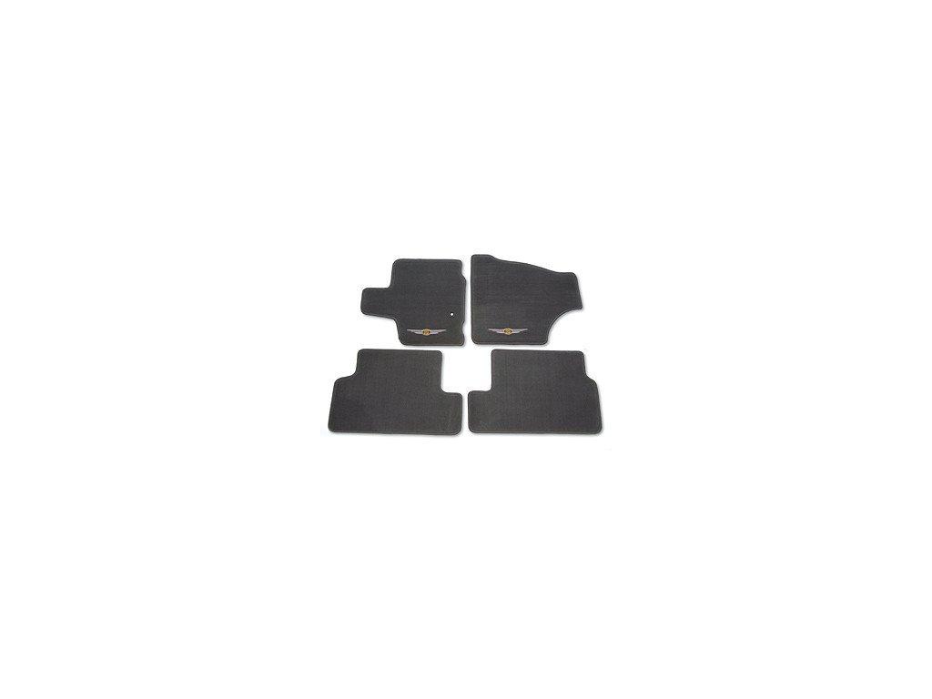 Koberce textilní sada gray Voyager RT Swivel `n Go