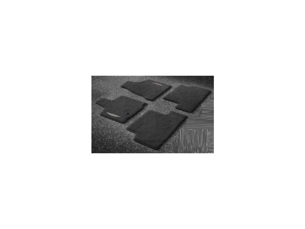Koberce textilní sada black Voyager RT 13-15 Stow 'n Go