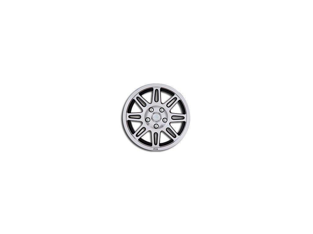 """Jeep Commander / Wrangler kolo 17x7.5"""" in Silver/Black"""