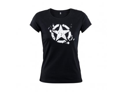 Jeep tričko dámské Star černé
