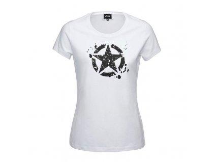 Jeep tričko dámské Star bílé