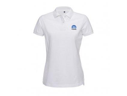 Mopar tričko polo bílé