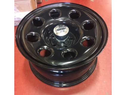 Unique sada kol 17x8, 5x127mm ET25 (Wrangler, Commander, Gladiator, Grand Cherokee)