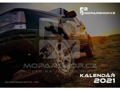 Jeep Kalendář 2021 - Moparshop.cz