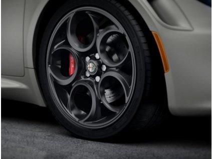 Alfa Romeo 4C Sada 5-Hole Matte Black ALU kol 50530592