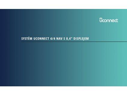 Návod k použití uConnect 4 s 8.4´ displejem 2018-2021