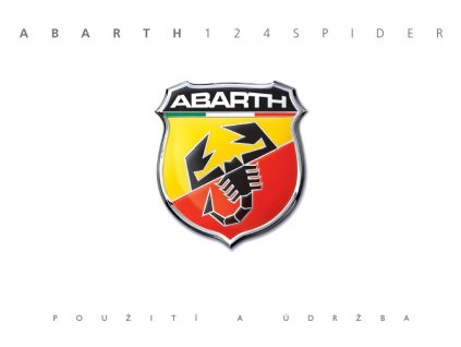 Návod k použití Abarth 124 Spider 2016-2021