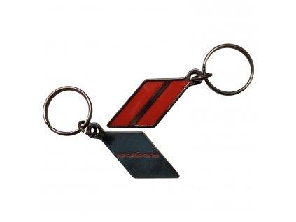 dodge rhombus metal keychain 12ht7