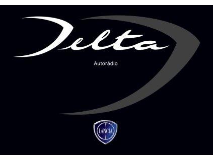 Návod k použití Lancia Nuova Delta Autorádio 2008-2014