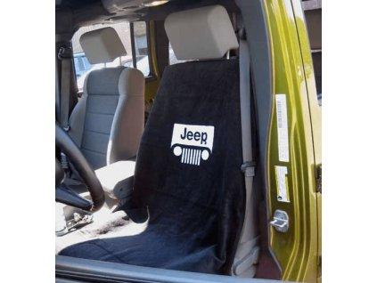 jeep grill logo seat towel 63