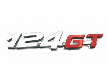Abarth 124 Spider Nápis 124 GT zadní