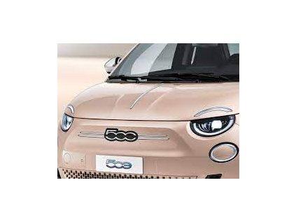 Fiat 500 EV Kapota pláštění chromové