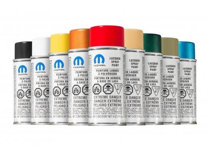 Mopar Lakovací sprej / Touch Up Spray (PWE) Brillante White